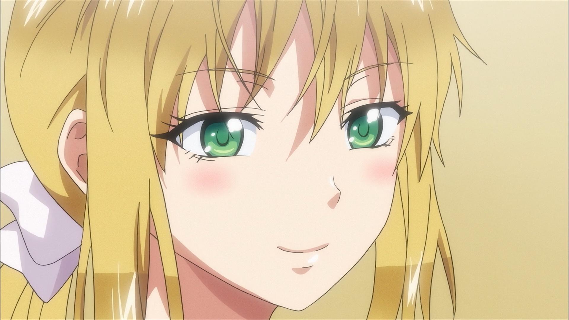 Green eyes: ane kyun!